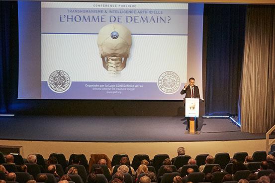 Conférence publique : Le Transhumanisme par Christophe Habas