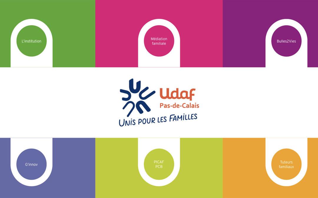 Un nouveau site haut en couleur pour l'UDAF 62