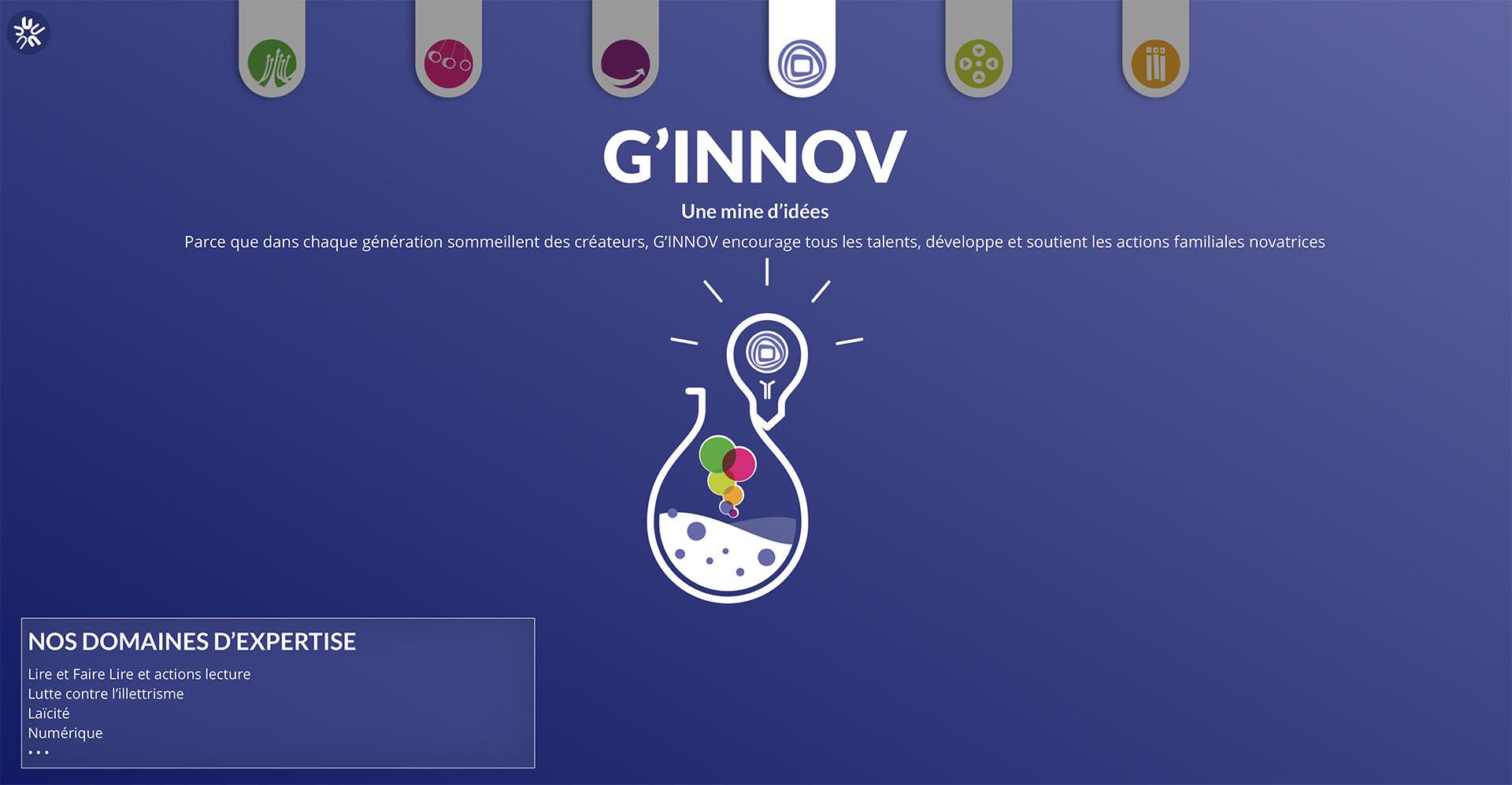 Page G'INNOV UDAF 62